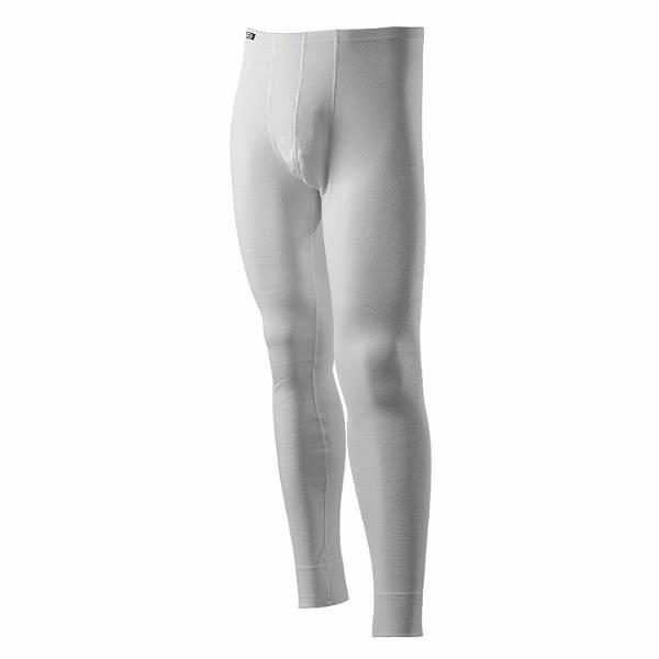 【ROUTEEIGHT】男 WARM 保暖內搭褲(白色)