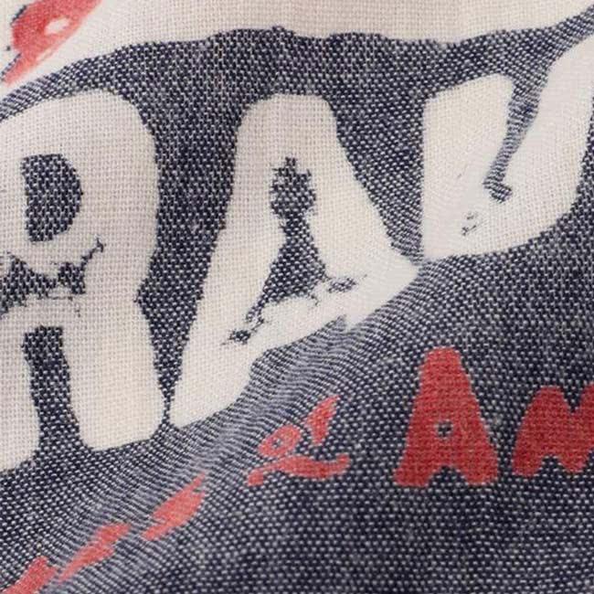 【Levis】男款方巾 / 復古 / 斑駁Logo