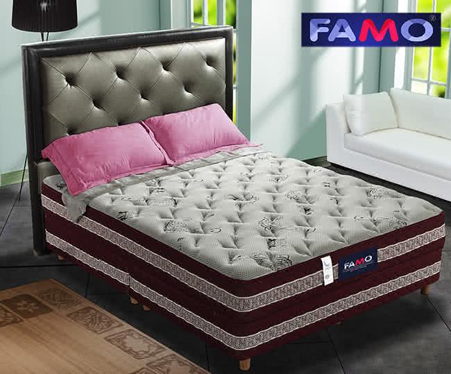 法國FAMO二線[康柔]硬式床墊(天絲棉+羊毛+記憶膠麵包床),床墊,獨立筒,FAMO,麵包床,雙人床墊,乳膠墊,保潔墊