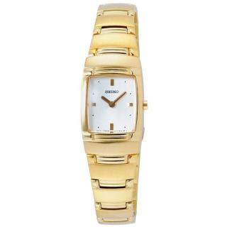 SEIKO 酒桶型都會時尚腕錶(金)SUJE96P1(M)