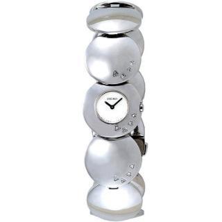 SEIKO 典雅風潮奢華魅力淑女腕錶(12星真鑽)SUH005P1(M)