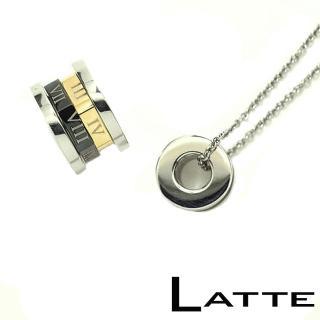 (LATTE)TheCode密碼 不鏽鋼項鍊-女鍊(M)