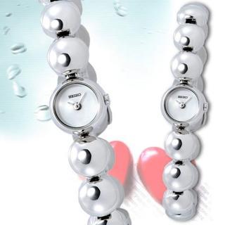 SEIKO 泡泡戀人銀色腕錶-SZY543P1