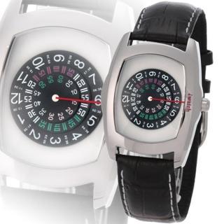 iwatch 型男索女正點個性磅秤錶(淺灰)-IW-1007-8