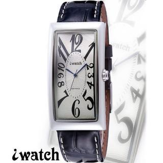 iwatch 都會魅力魅力時尚型男錶(銀)-IW-1004M-7
