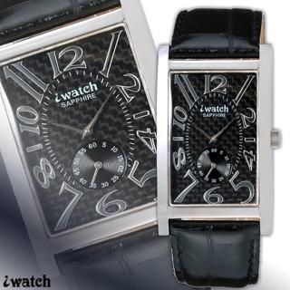 iwatch 鈦鍺能量都會時尚健康腕錶(碳纖維面)_IW-1008-1