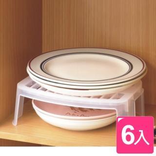《魔法廚房》廚櫃餐盤整理架6入