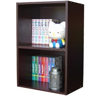 【美佳居】15mm厚(美背式)2層間隙書櫃/置物櫃(三色可選)