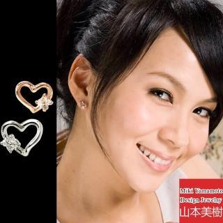 【山本美樹】Wish 水晶耳環(共兩色)
