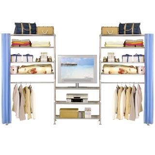 巴塞隆納-W4型90+90+90置物-衣櫥架