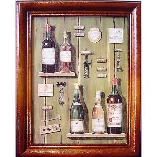 【開運陶源】《Wine-2》原木鑰匙盒壁飾