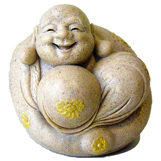 【開運陶源】彌勒佛 發財神(銹石)