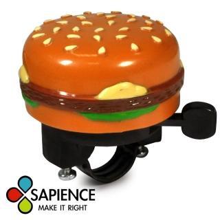 【SAPIENCE】自行車專用大漢堡造型手撥鈴