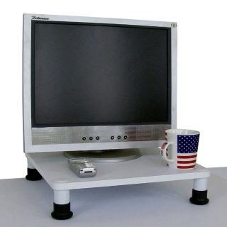 【美佳居】40公分x40公分-桌上型置物架(素雅白色)