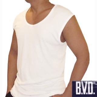 【BVD】BVD 時尚天然純棉型男寬肩背心-6件組
