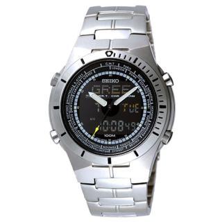 SEIKO 旅行家運動雙顯錶