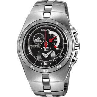 SEIKO 動能先鋒三眼計時腕錶