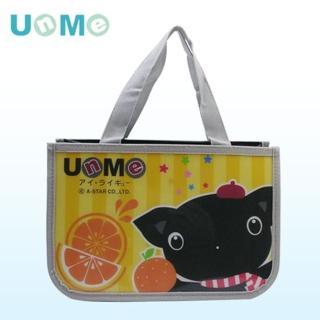 【UnMe】可愛硬式防水便當袋2入/黃色