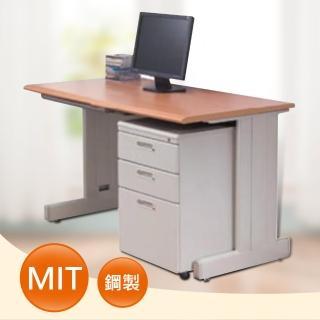 120CM 木紋色辦公桌櫃組(HU-120WMV)