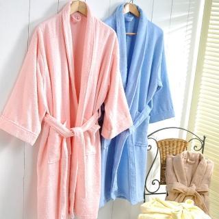 五星級飯店專用純棉睡浴袍