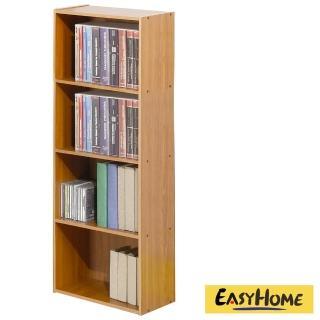 【EASY HOME】經典簡約開放式四格收納櫃