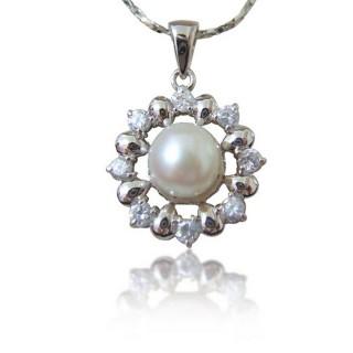 (小樂珠寶)頂級天然珍珠墜子★專櫃質感款