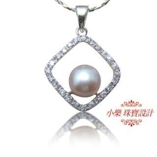 (小樂珠寶)頂級天然珍珠墜子★都會自信款