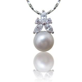 (小樂珠寶)頂級天然珍珠墜子★活力年輕款