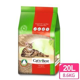 【德國凱優CAT'S BEST】凝結木屑砂-紅標(20LX1包)