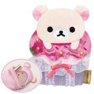 San-X 懶熊午茶系列造型零錢包-懶妹