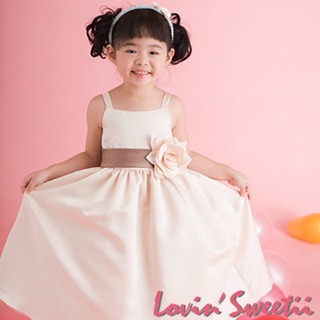 (Lovin Sweetii)俏麗小公主童洋裝~粉紅~限量款