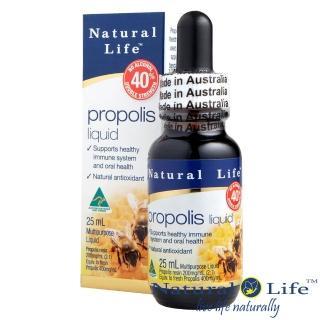 【澳洲Natural Life】40%蜂膠液(不含酒精25ml)