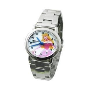 迪士尼公主系列-睡美人兒童錶(鋼帶)