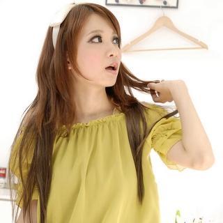 【Lady c.c.】飄逸輕柔三扣長直髮兩片裝(共兩色)