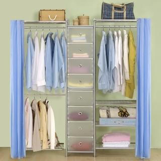 【巴塞隆納】W2型60+D+W4型60衣櫥置物櫃