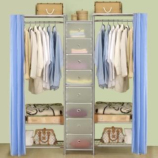 【巴塞隆納】W3型60+D+W3型60衣櫥置物櫃