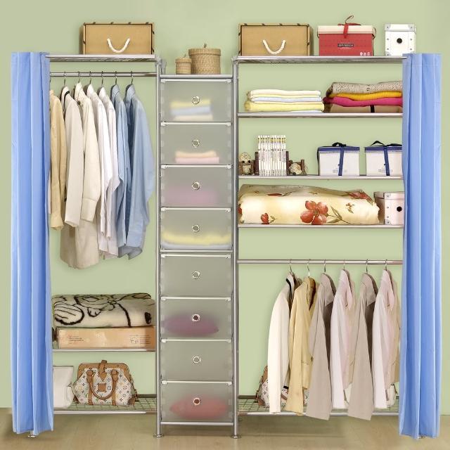【巴塞隆納】W3型60+D+W5型90衣櫥置物櫃