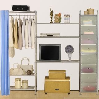 【巴塞隆納】W3型60+90+D電視衣櫥置物櫃