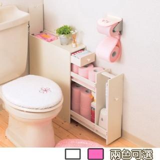 【C&B】朵拉日式衛浴收納架(兩色可選)