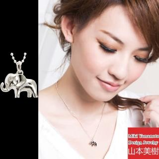 【山本美樹】艾樂芬 大象水晶項鍊