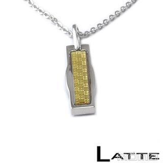 (LATTE)黃金美健 能量鈦鍺磁石項鍊(女鍊)