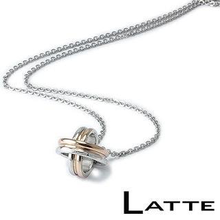 (LATTE)甜蜜時光 不鏽鋼項鍊(女鍊)