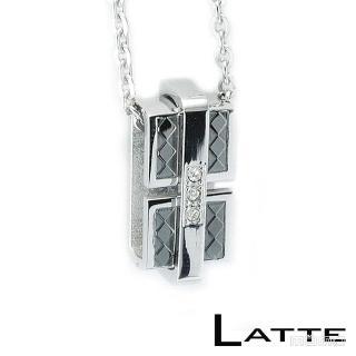 【LATTE】緊緊擁抱 不鏽鋼項鍊(女鍊)