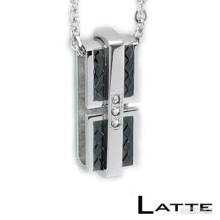 【LATTE】緊緊擁抱 不鏽鋼項鍊(男鍊)
