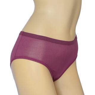 賽凡絲花樣年華純蠶絲內褲(紫色)2件組