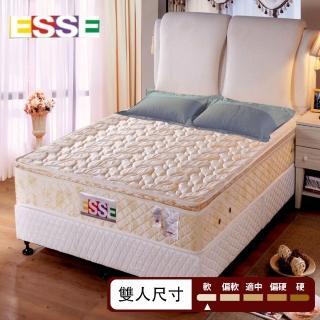 【ESSE御璽名床釋壓系列】三線記憶膠棉獨立筒床墊5x6.2尺(雙人尺寸  5X6.2尺)