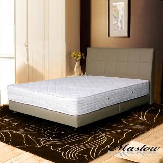 (Maslow-時尚皮製)雙人床組-5尺(不含床墊)-卡其