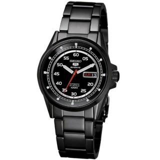 SEIKO 經典5號機械腕錶(黑)