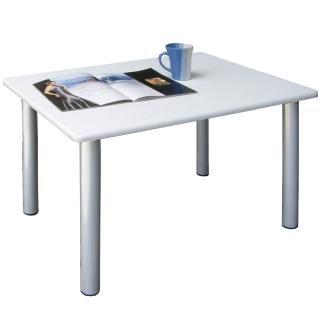 【美佳居】45公分高-休閒桌/和室桌/餐桌(素雅白色)