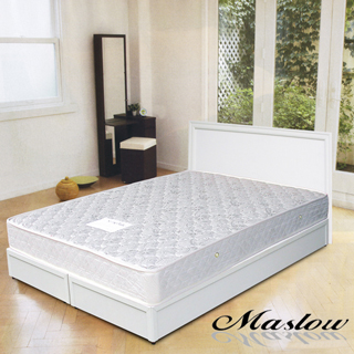 (Maslow-純白主義)雙人床組-5尺(不含床墊)